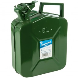 Silverline Metal Jerry Can - 5 Litre