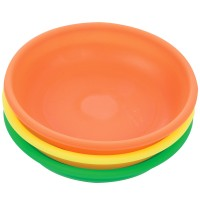 Silverline Magnetic Parts Dish Hi-Viz 3 Piece Set 135mm Diameter