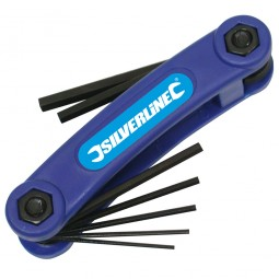 Silverline Imperial Hex Key Set Small - 7 Piece