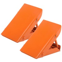 Silverline Folding Steel Wheel Chocks