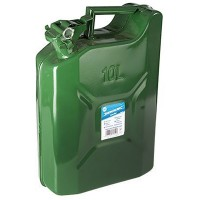 Silverline Metal Jerry Can - 10 Litre