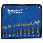 Silverline Metric Stubby Spanner Set 10mm - 19mm - 10 Piece