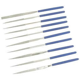 Silverline Diamond Needle Files 140mm - 10 Piece Set