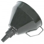 Silverline Funnel With Metal Filter - 160mm