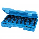 Silverline Impact Socket Set Wrench Set - 35 Piece