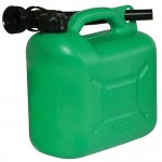 Silverline Plastic Fuel Can - 5 Litre