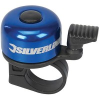 Silverline One Touch Ping Bicycle Bell