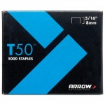 Arrow T50 and T55 Staples 8mm - 5000 Pack