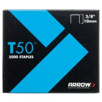 Arrow T50 and T55 Staples 10mm - 5000 Pack