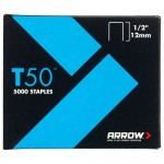 Arrow T50 and T55 Staples 12mm - 5000 Pack
