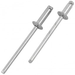 Arrow Steel and Aluminium Pop Rivet Pack - 120 Piece