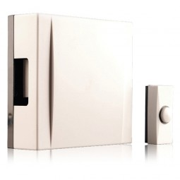 Byron BQ20/720 Wall Mounted Hard Wired Chime Kit - Cream