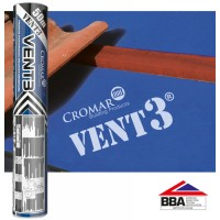 Cromar Vent 3 High Performance Breathable Roofing Felt - 50m x 1.5m