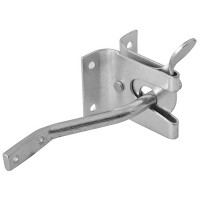 Forge Auto Gate Latch Zinc Plated Finish