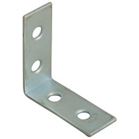 Forge Corner Braces with Zinc Plated Finish 40mm - Pack of 10