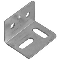 Forge Stretcher Plates 38mm Zinc Plated Finish - Pack of 10