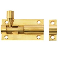 Forge Door Bolt with Brass Finish 50mm