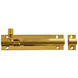 Forge Door Bolt with Brass Finish