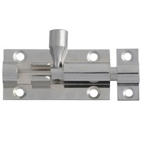 Forge Door Bolt 50mm Chrome Finish