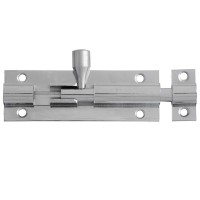 Forge Door Bolt 75mm Chrome Finish