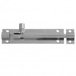 Forge Door Bolt 100mm Chrome Finish