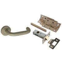 Forge Stainless Steel Return To Door Handle Pack