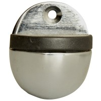 Forge Oval Door Stop 40mm Chrome Finish