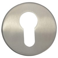 Forge Escutcheon Stainless Steel Euro Profile