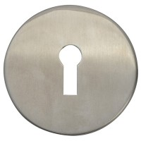 Forge Escutcheon Stainless Steel Lock Profile