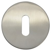 Forge Escutcheon Stainless Steel Oval Profile