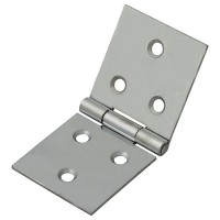 Forge Backflap Hinge with Zinc Plated Finish 40mm - Pack of 2