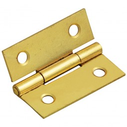 Forge Butt Hinge with Brass Finish