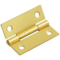 Forge Butt Hinge with Brass Finish 50mm - Pack of 2
