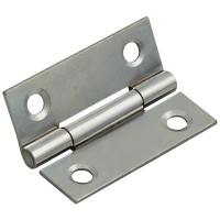 Forge Butt Hinge with Polished Chrome Finish 50mm - Pack of 2