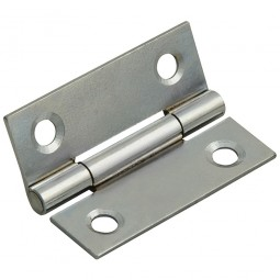 Forge Butt Hinge with Polished Chrome Finish