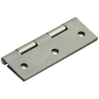 Forge Butt Hinge with Polished Chrome Finish 65mm - Pack of 2