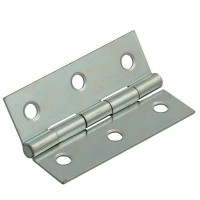 Forge Steel Butt Hinge with Zinc Plated Finish 75mm - Pack of 2