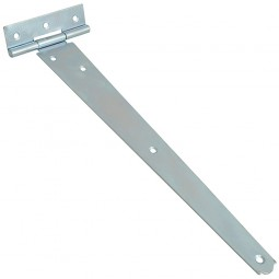 Forge Tee-Hinge with Zinc Plated Finish