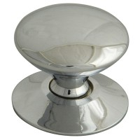Forge Cupboard Knobs 30mm Chrome Finish Pack of 5