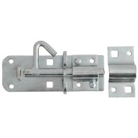 Forge Padlock Bolt 100mm Zinc Plated Finish