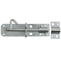 Forge Padlock Bolt 200mm Zinc Plated Finish