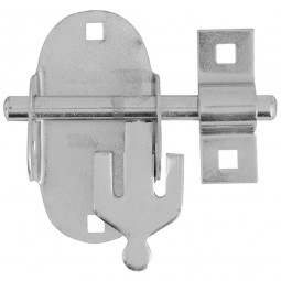 Forge Oval Padbolt with Zinc Plated Finish