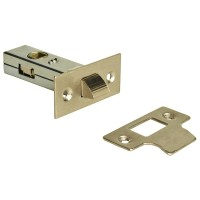 Forge Tabular Mortice Latch 65mm with Nickel Finish