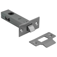 Forge Tabular Mortice Latch 76mm with Nickel Finish