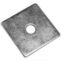 Square Plate Washers 50mm x 50mm x M10 - 10 Pack