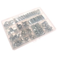 Jubilee Zinc Plated Hose Clip Workshop 143 Pack