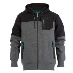 OX Workwear Technical Hoodie Grey and Black