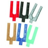 Frame Horseshoe Plastic Packers 53mm x 62mm x 3mm - 1000