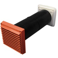 Rytons Super Acoustic Controllable Ventilator LookRyt® AirCore® - Terracotta