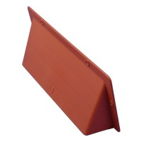 "Rytons Air Brick Cowl 9"" x 3"" Surface Mounted Vent Cover - Terracotta"